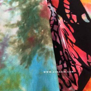 ديوار آويز (بکدراپ) و روتختي دو نفره طرح درخت زندگی : مولتی کالر