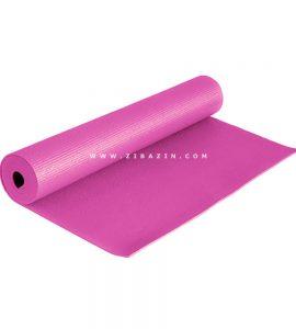 مت یوگا و پیلاتس (PVC) 6 میل : صورتی + کاور رایگان