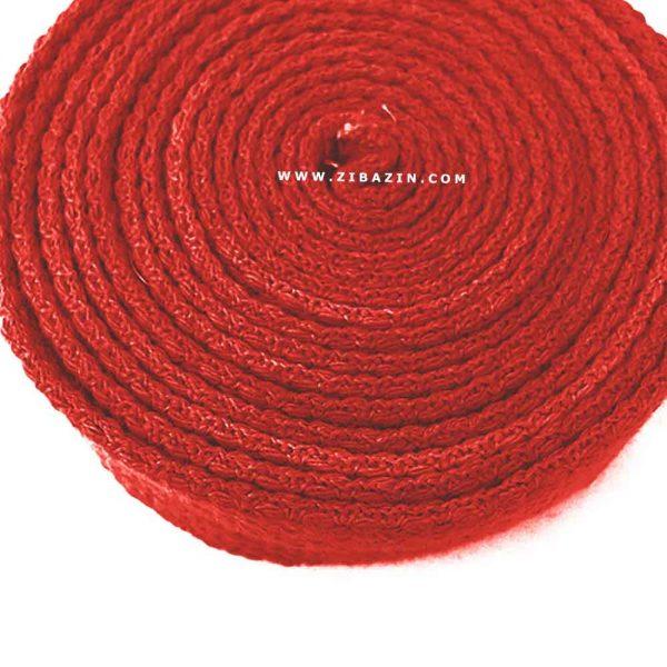 کمربند نخی مخصوص يوگا : قرمز