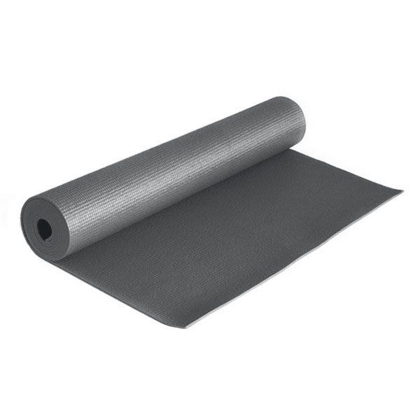 مت یوگا و پیلاتس (PVC) ۵ میل : خاکستری
