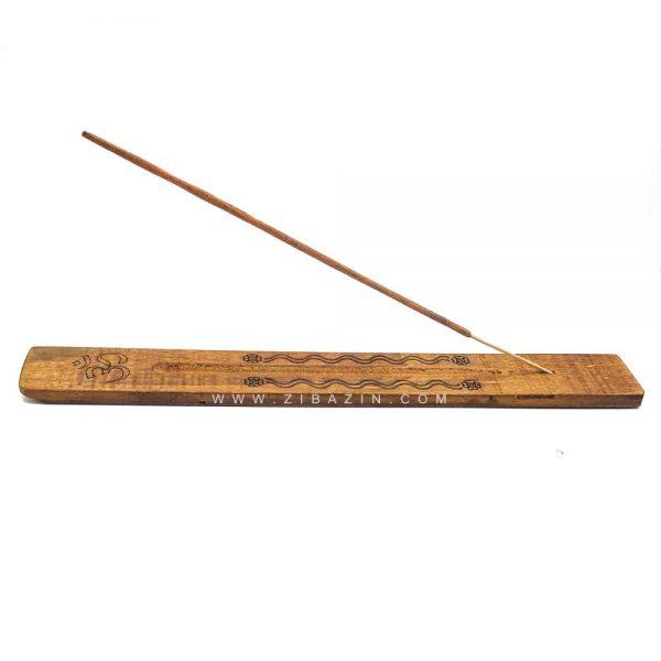 جاعودی دستساز چوبی ساده طرح اوم کد 2