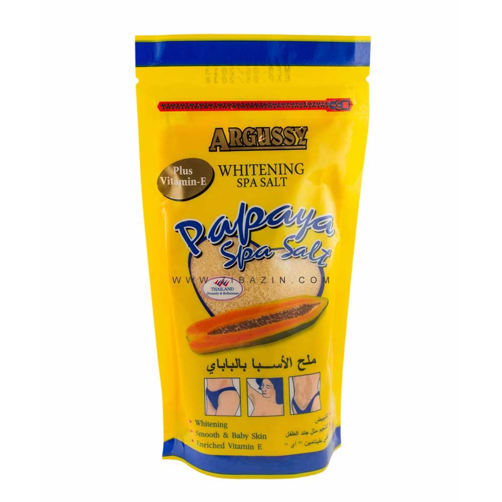نمک اسپا (پاکسازی) حمام تایلندی : پاپایا