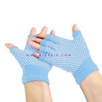 دستکش ضد لغزش يوگا و پيلاتس : آبی آسمانی