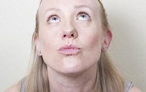 ماساژ دادن صورت,بوسیدن آسمان یوگای صورت آموزش یوگای صورت