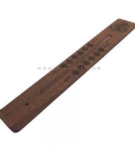 جاعودی دستساز چوبی ساده طرح اوم کد 3